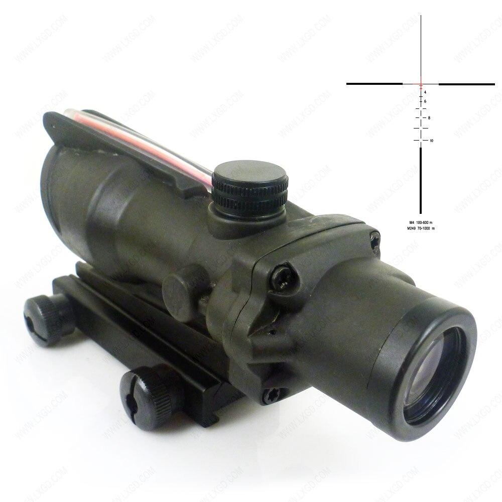 PHANTOM Magnified Optics 4x 32 rifle scope for ar Optics Red Fiber Illuminated Riflescopes For Hunting шлепанцы hurley sample phantom sandals rifle