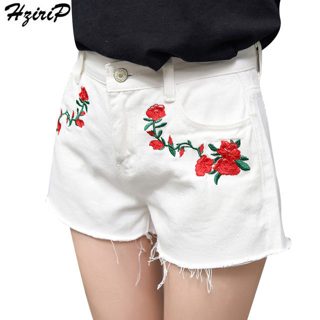 Aliexpress.com : Buy HziriP 2017 Summer Shorts Jeans With ...