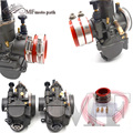 Súper PerformanceKOSO motocicleta Keihin OKO PWK Carburador Carb Carburador 28 30 32 34mm power jet Moto de carreras bici de la suciedad ATV