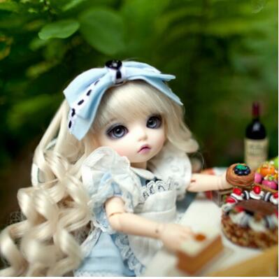 Free shipping 1 8 bjd doll BB Luna Basic