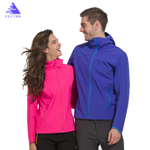 2016 new womens outdoor windproof waterproof breathable quick-drying jackets elastic soft shell jacket for camping and hiking