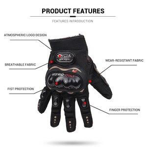 Image 4 - PRO BIKER Motorcycle Gloves Men Motocross Gloves Full Finger Riding Motorbike Moto Gloves Motocross Guantes Gloves M XXL