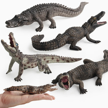Animals Kingdom Crocodile Toy Set Plastic Play Toys World Park Model Action Figures Kids Gift Home Decor Children