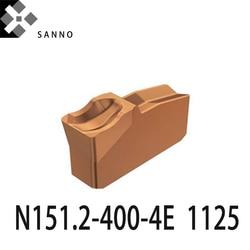 Wysokiej jakości N151.2 400 4E 4225/1125 cnc wkładki do rowkowania cnc wkładki z węglików spiekanych maszyny zacisk ostrze do cięcia Narzędzia tokarskie    -