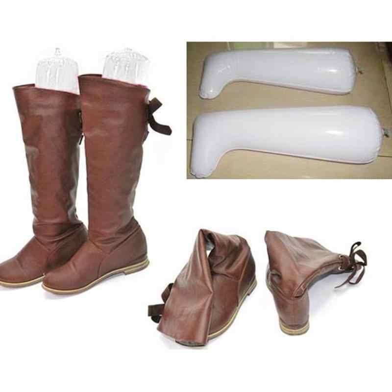 Botas hinchables para dama, soporte, botas de árbol, botas largas de plástico, formadores, botas cómodas, soporte, Venta caliente