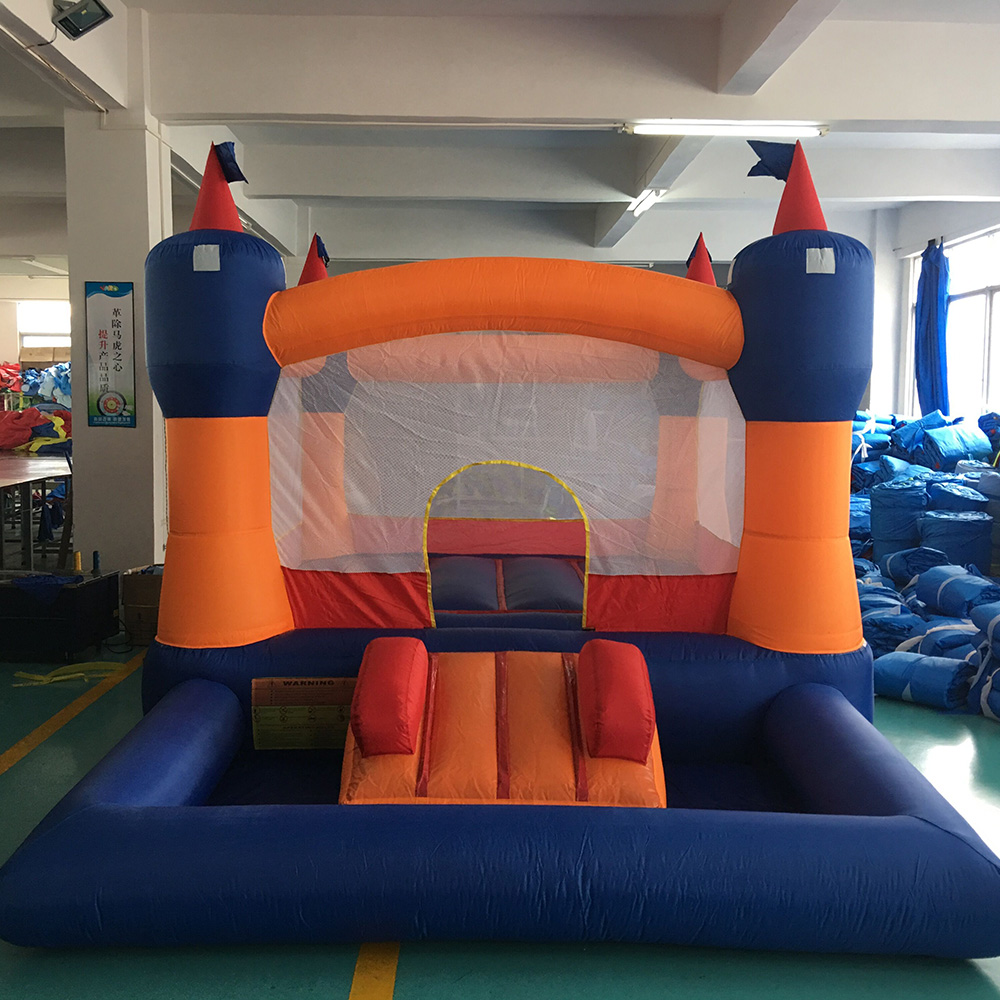 YARD Inflatable Kid Jumpers Bouncers Bouncy Castle for Sale Inflatable Bounce House with Ball Pool yard residential inflatable bounce house combo slide bouncy with ball pool for kids amusement