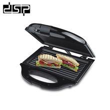 DSP  Household Mini Sandwich Machine Breakfast Electric Baking Pan EU plug 750W 220-240V цена и фото