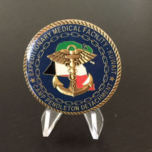 low price custom Coin  new Medical Facility Challenge Coin High quality metal coins  FH810173 custom double sided logo coin new electroplated gold coin high quality low price
