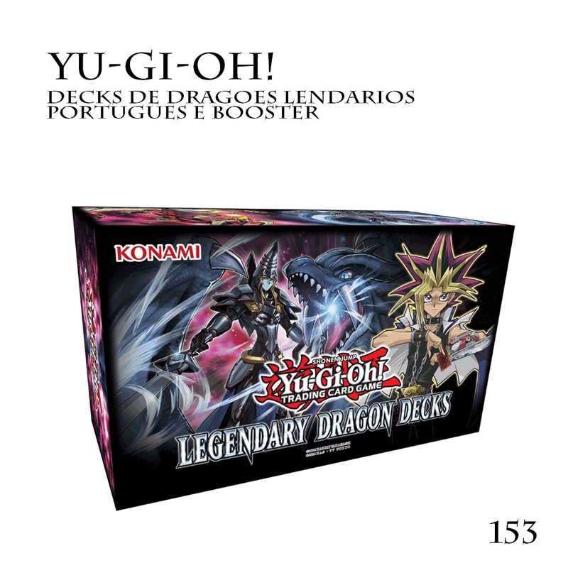 153pcs / Set Yu Gi Oh Trading Game Cards Legendary Dragon Decks English Cards Anime Yugioh Game Cards For Collection Hx225 #3