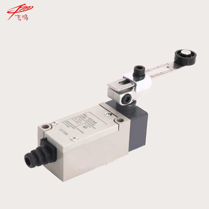 Limit switch AC DC NO NC stainless steel wheel roller 380V 10A adjustable of arm switch IP65 waterproof HL-5030 HL5030 ac dc no bull