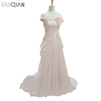 Real photos oscar red carpet classical off shoulder front slit pink chiffon evening dresses celebrity dresses.jpg 350x350