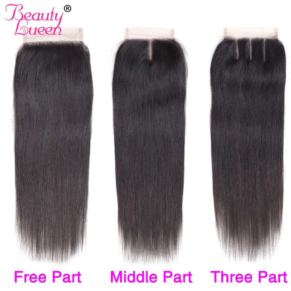 brazilian straight hair weave bundles with closure remy 34 bundles brazillian straight hair with closure jet black human hair (1)