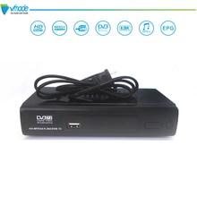 DVB-T2/T HD цифровой ТВ тюнер рецепторов MPEG4 H.264 DVB T2 ресивера DVB T Поддержка 3D интерфейс Стандартный декодер каналов кабельного телевидения