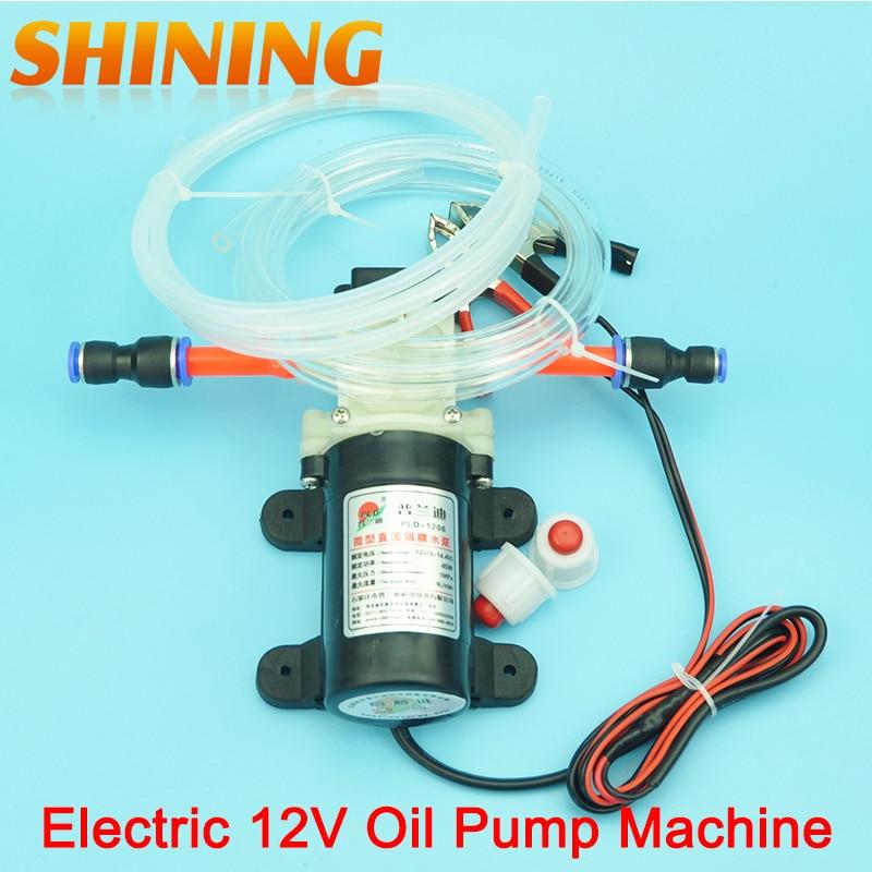 Professional electric dc 12v oil pump diesel fuel oil for Diesel motor oil in gas engine