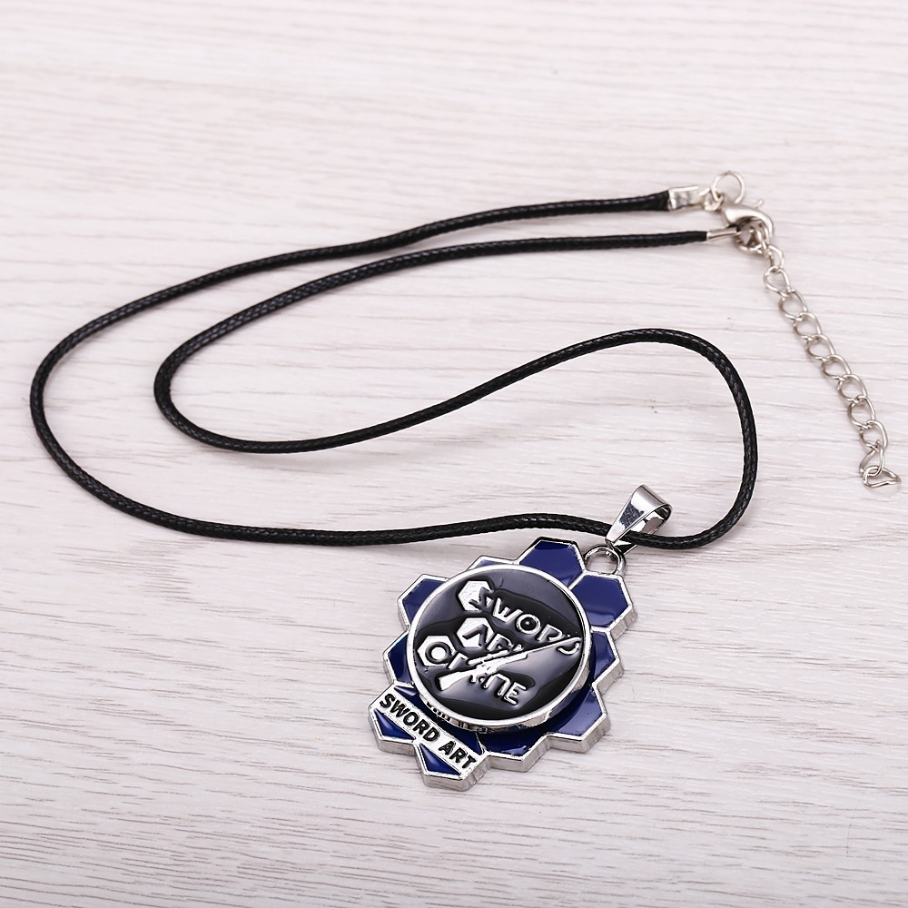 Sword Art Online Rotatable Logo Necklace