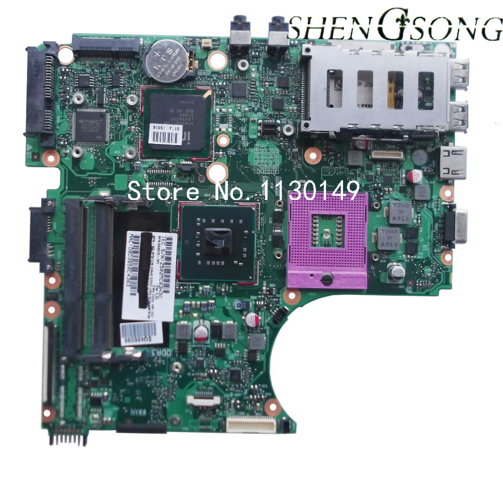 583078-001 Free Shipping laptop Motherboard Fit For HP Probook 4410s 4510s 4710s Notebook PC system board, 100% working free shipping notebook motherboard system board 641733 001 for hp probook 6360b series working perfect tested