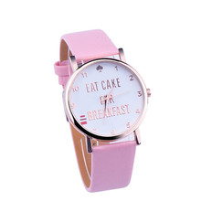 Relojes mujer  2017 Relogio Feminino Leather Band Analog Quartz Vogue Wrist Watches   #June27A
