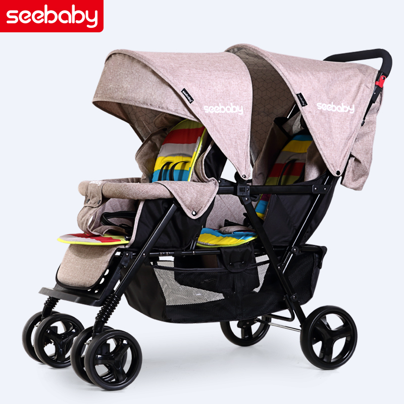 Super Two Child Stroller Twins Front And Rear Seat Double Machost Co Dining Chair Design Ideas Machostcouk