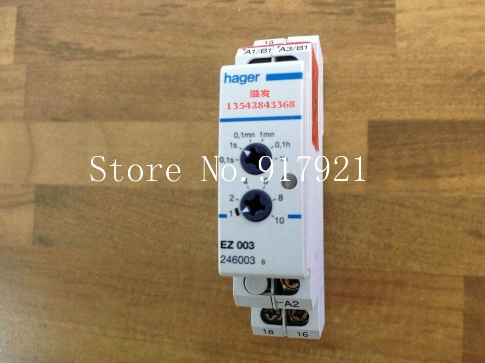[ZOB] Hagrid EZ003 adjustable time delay relay combination relay 0.1S-10H can replace EZN003 cтеппер bs 803 bla b ez