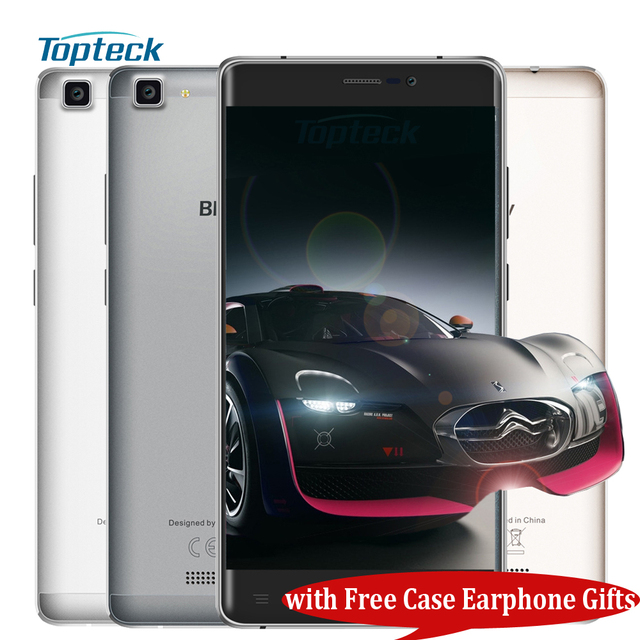 """Blackview A8 / A8 Max 4G 5.5"""" HD IPS Smartphone Android 6.0 MTK6737 Quad Core 1.3GHz Cellphone 2GB+16GB 8MP 3000mah Mobile Phone"""