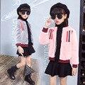 Adolescente Meninas de Beisebol Casacos de peles de inverno Crianças Meninas Camisola Hoodies Sportswear Meninas Top Meninas Modelada Casaco de pele casaco quente
