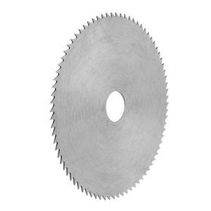 Image 4 - 4 بوصة رقيقة جدا الصلب شفرة منشار دائري 100 مللي متر قطر الحفر 16/20 مللي متر عجلة قطع القرص لأعمال النجارة أداة دوارة W329