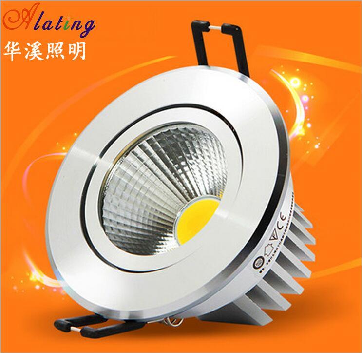 H-Q супер яркий светодиодный Подпушка свет удара потолка прожектор 15 Вт 25 Вт 30 Вт потолочные встраиваемые теплый белый Освещение в помещении ...