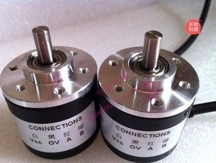 Free shipping 400P / R incremental rotary encoder 400 pulses the maximum mechanical speed of 1000 rev / min