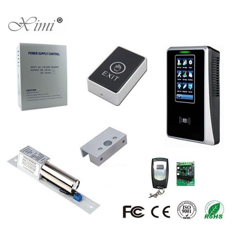 3000 utilisateurs tcp/ip USB écran tactile 125 KHZ RFID carte temps de présence enregistreur de temps bricolage ZK SC700 carte d'identité système de contrôle d'accès