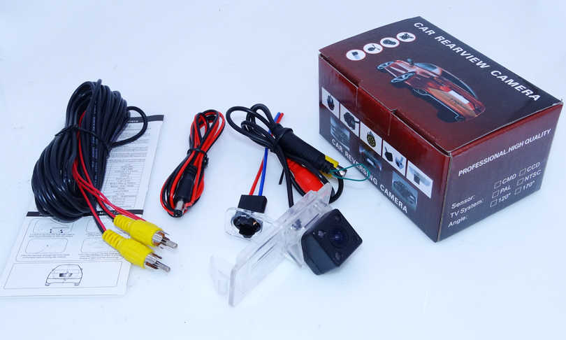 Światła ir samochodowa kamera cofania noktowizor oryginalne zastosowanie dla Renault Fluence/dacia duster/Megane 3/dla Nissan Terrano