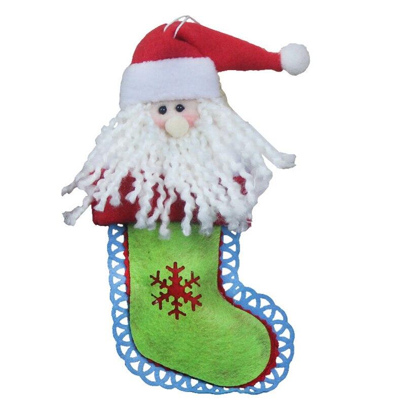 Oggetti Di Natale.Us 5 27 34 Di Sconto Albero Di Natale Decorazioni Ctockings Natale Ornamenti Artigianato Feste Forma Calzini Oggetti Di Scena Di Natale Pupazzo Di