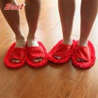East 2 paires/ensemble de mariage accueil slipper décor Chinois valentine cadeau du jour couple pantoufle set creative maison cleaner chaussures