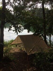 Image 3 - 3F UL معدات قماش القنب كوريا الوطنية الغابات 4x4.4m مكافحة الأشعة فوق البنفسجية 210T مع طلاء الفضة في الهواء الطلق مأوى كبير الشاطئ المظلة السياحية المظلة