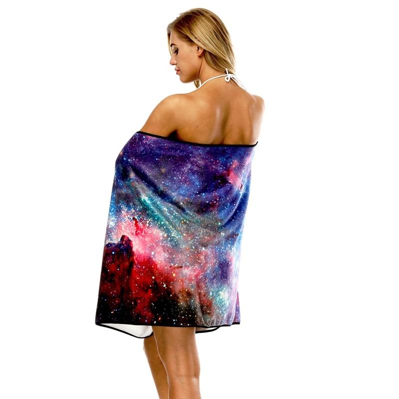Multi-Funcional Wearable Toalha de Secagem Rápida Mulheres