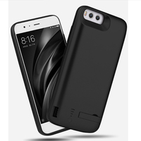 6500mAh Power Bank For Xiaomi Mi 6 5S Battery Power Case External Backup Battery Charger Case For Xiaomi Mi6 Mi5S Holder Bracket