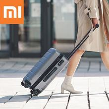 XIAOMI 90FUN 20inch PC Suitcase Carry on Spinner Wheels Rolling Luggage TSA lock Business Travel Vacation for Women men xiaomi 90fun business travel dual function rolling luggage with lock spinner pc suitcase trolley carry on travel bag 20 24 28