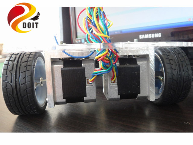 smart rc car chassis stepper motor stepper 42 robot