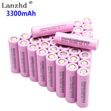 8-40PCS 18650 Rechargeable batteries 3.7V INR18650 lithium li ion 3.7v 30A current 18650VTC7 For samsung battery