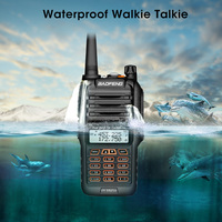 Newest Baofeng UV 9R Plus Walkie Talkie Waterproof 8W UHF VHF Dual Band 136 174/400 520MHz Ham CB Radio FM Transceiver Scanner