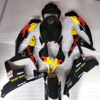 Motorcycle Black Yellow Fairing Kit Bodywork For Honda CBR600RR F5 2007 2008 CBR 600 RR F5 07 08 Injection Molding Cowl