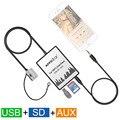 Автомобильный Цифровой Музыки Чейнджер DMC USB SD AUX-IN Mp3-плеер Адаптер для Audi Concert 3 Хор 3 Симфония 3 Delta 6 Дельта 7 Радио