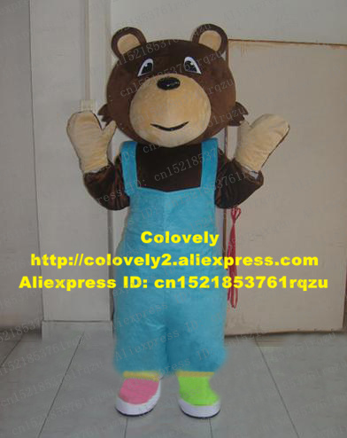 The Berenstain Bears Babybear Baby bear Mascot Costume Adult Cartoon Character Dark Brown Body Covered Blue Suspenders ZZ3887-in Mascot from Novelty ... & The Berenstain Bears Babybear Baby bear Mascot Costume Adult Cartoon ...