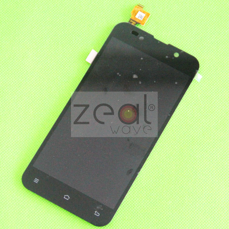 Free Shipping 5.0 Black Capacitive Touch Screen+Display LCD without Frame for ZOPO C2 ZP980 lcd screen display touch panel digitizer with frame for htc one m9 black or silver or gold free shipping