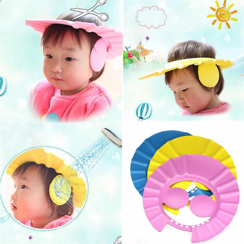 Criança bebê crianças banho chuveiro olho protetor de ouvido ...