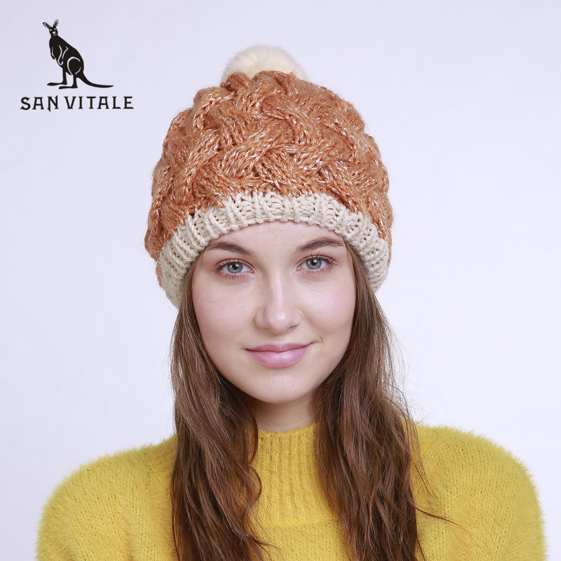 Skullies     Beanies   Hats For Women Hats Winter Warm Famous Brand Hat Gift Casual Cotton Clothing Accessories Apparel For Ladies