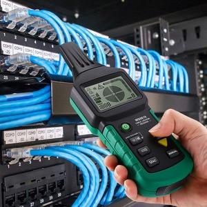 Image 2 - MS6818 Draht Tracker Test Kabel Netzwerk Tragbare Telefon Kabel Locator Unterirdischen Rohr Detektor Kabel Toner Finder