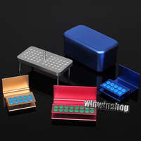 Dental Endo Box Autoclave Disinfection Box Case Holder for Endodontic Reamers