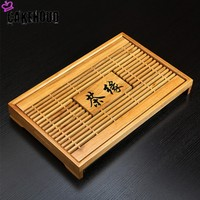 CAKEHOUD Chinese Traditional Kung Fu Tea Set Accessories Service Tray Tea Tray Travel Dry Tea Tray Tea Ceremony Accessories