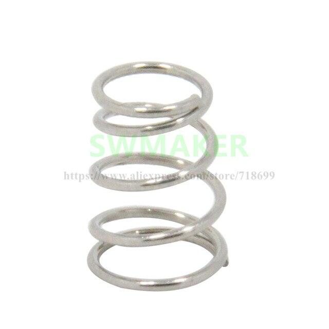 4pcs 6*7*12mm heating bed table leveling adjustment spring for Reprap Prusa i3 3D printer
