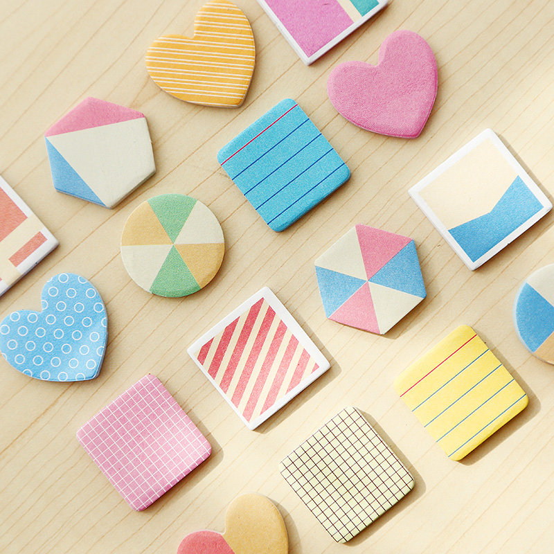Color Sticky Paste Stickers Note Creative N /4 Posted Notes s
